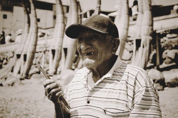 Huanchaco - Fisherman