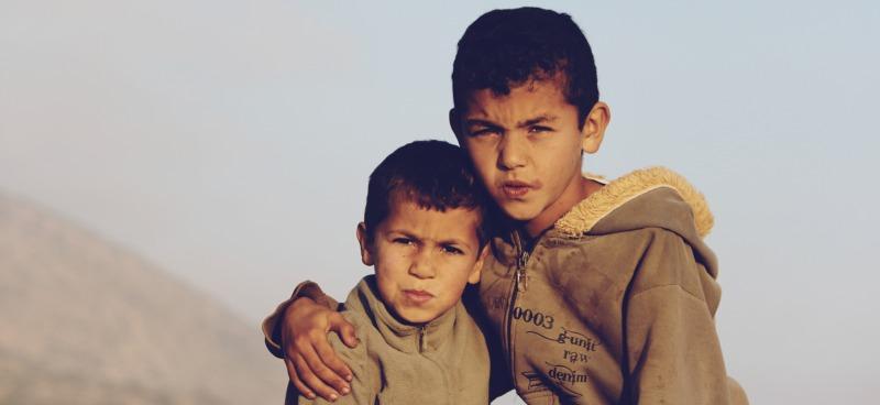 Kids at Boilers
